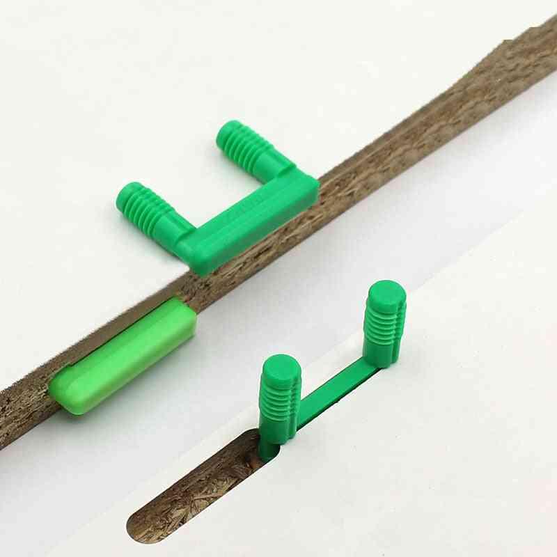 50pcs U-shaped Plastic, Wood Board Connector