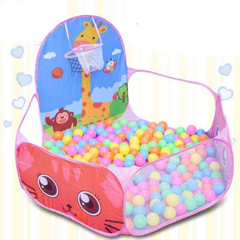 Foldable Sports Ocean Ball -basket Pit Pool Game, Educational Toy