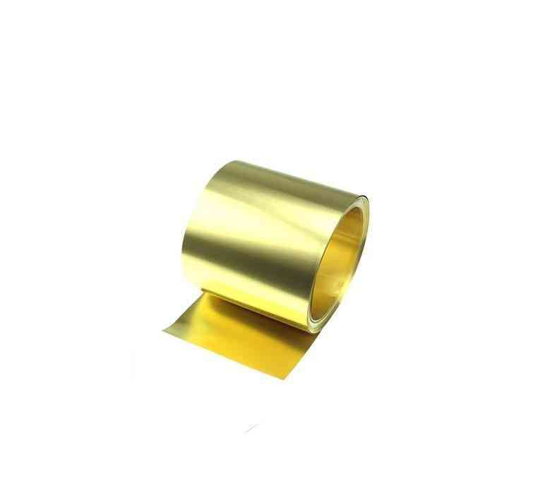Diy Brass Strip, Gold Plated Foil Sheet