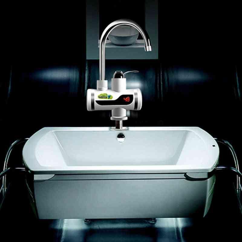 Electric Digital Faucet Leakage Protection- Cross Lower Water Intake