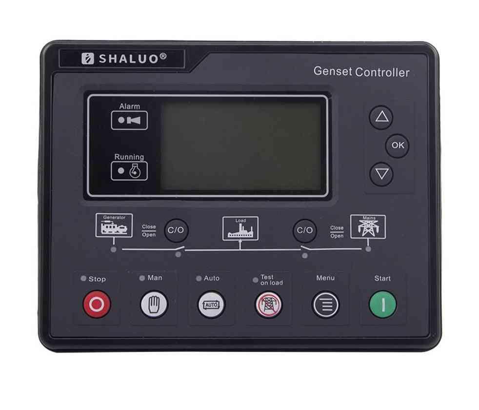 Diesel Generator Controller, Lcd Automatic Start Genset