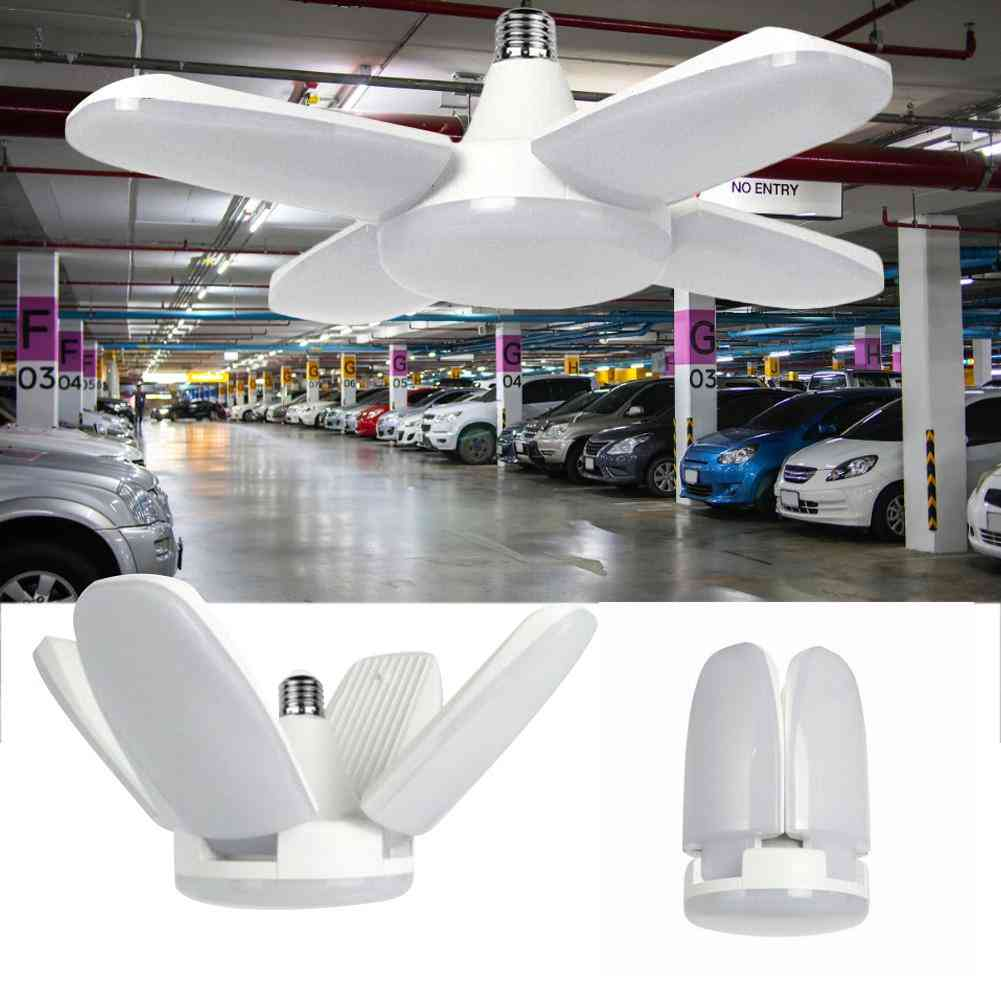 Fan Shaped, Foldable Led Garage Light-90 Degree Rotating