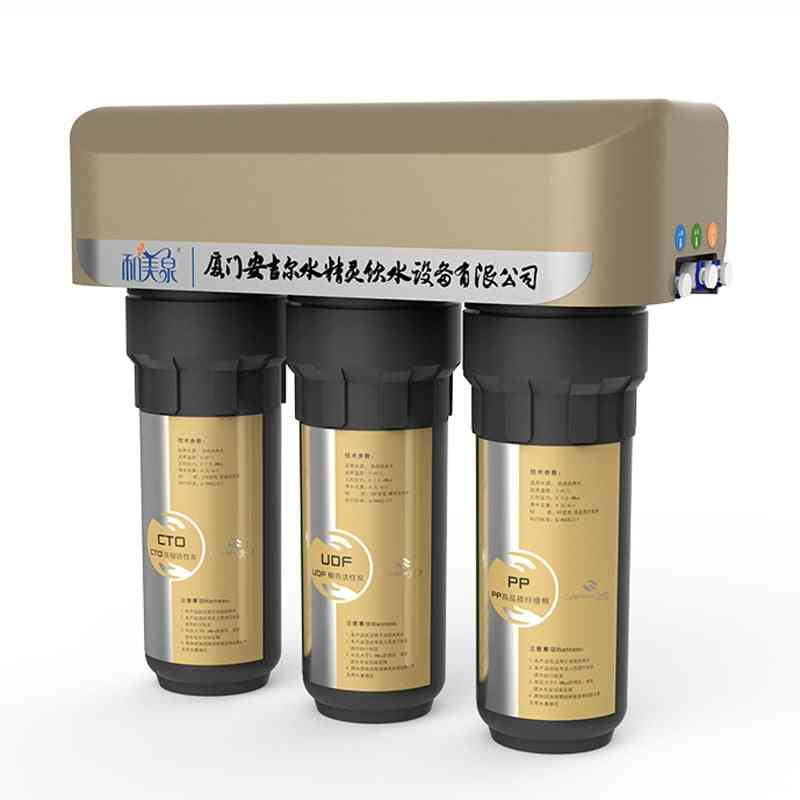 Stainless Steel Under-sink Countertop Filtration