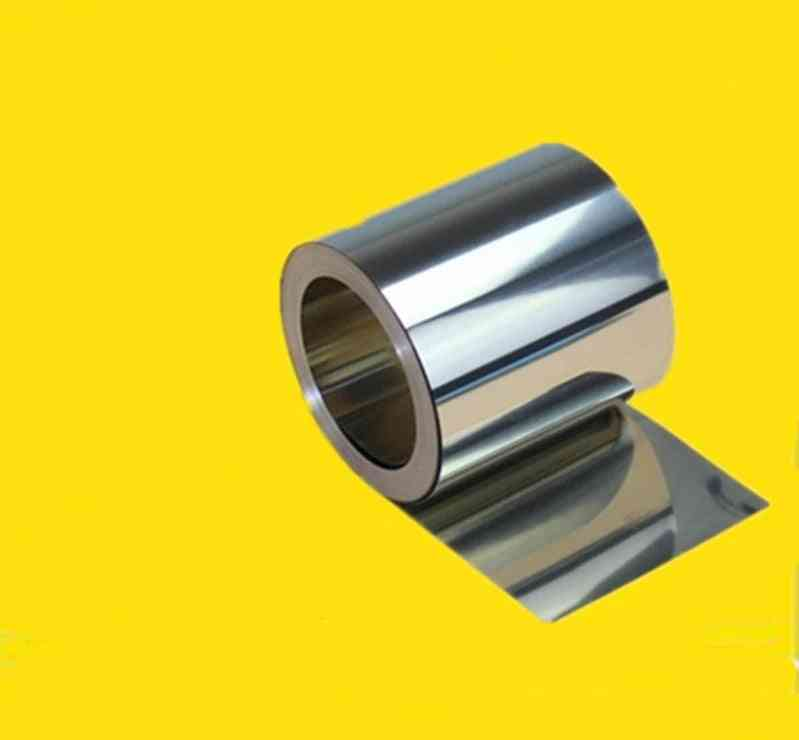 Stainless Steel, Silver Fine Plate Foil For Precision Machinery