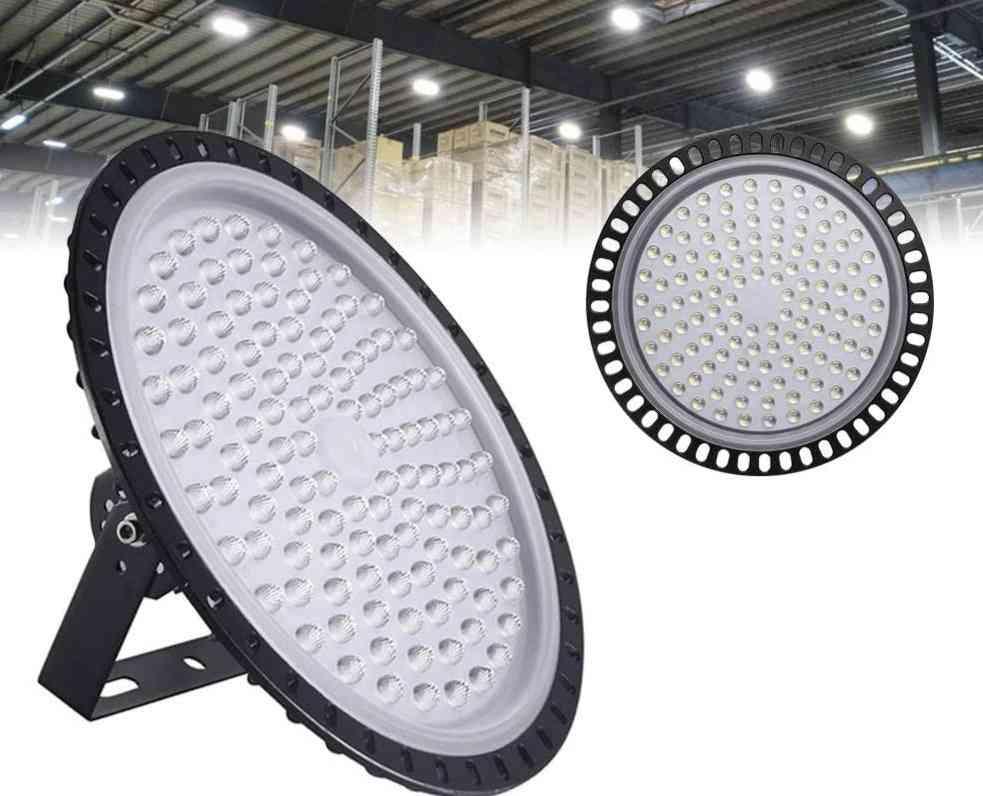 Ultraslim 50 To 500w Ufo Led High Bay Lights, Waterproof Ip65 Lamp