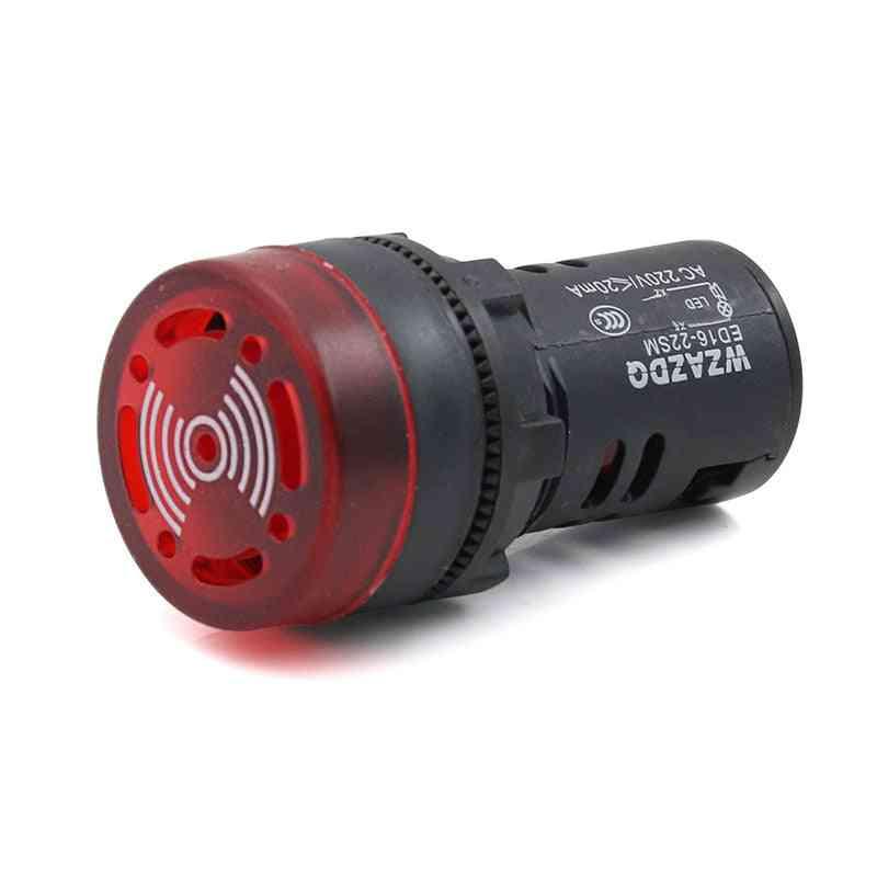 Intermittent Flash Sound And Light - Buzzer Ed16-22sm Alarm Device
