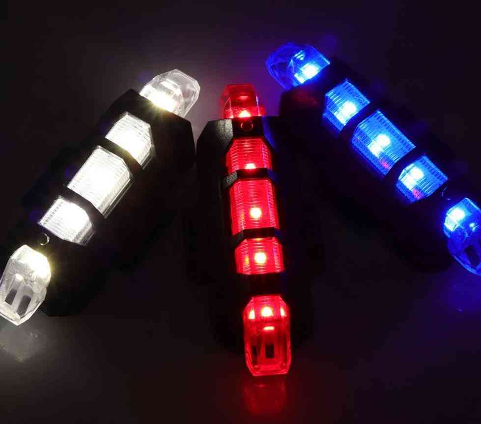 Emergency Strobe Warning Lights-waterproof, 4 Flash Modes Usb Charging Portable Safety Lamps