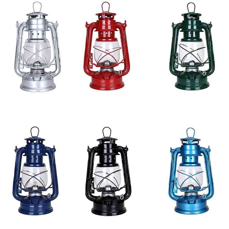 Classic Kerosene Vintage Lantern Paraffin Wild Emergency Light For Camp