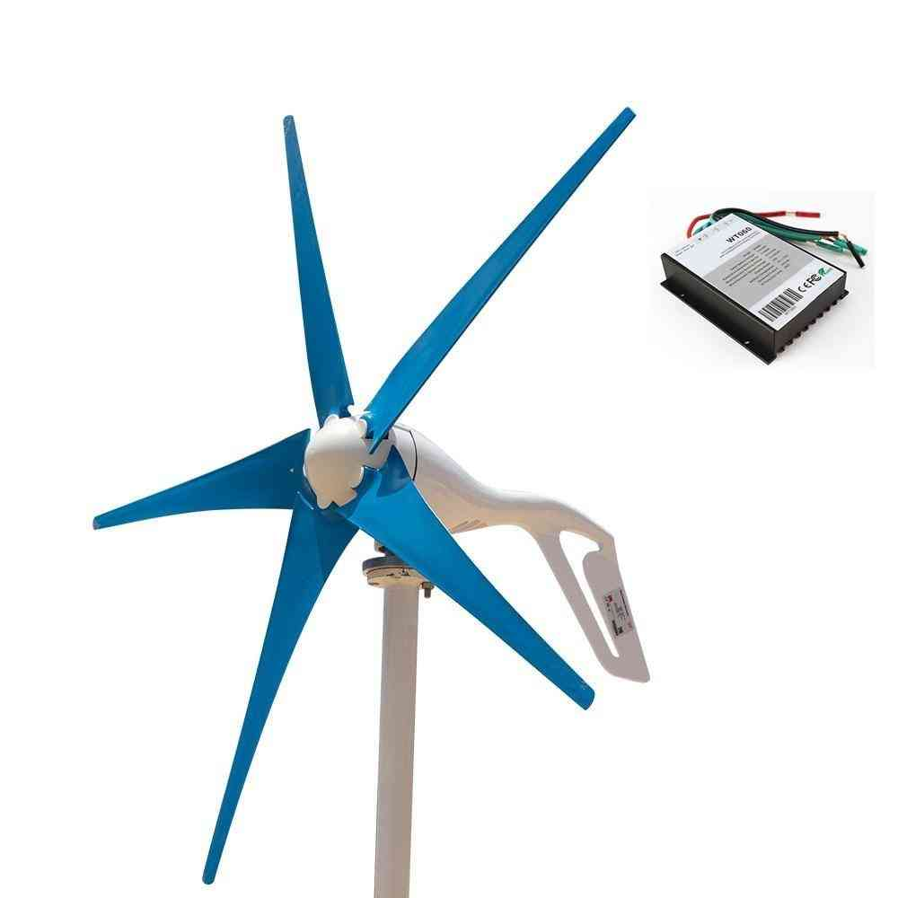400w Mini Windmill Wind Blades Controller Charge Generator For Marine Light Land