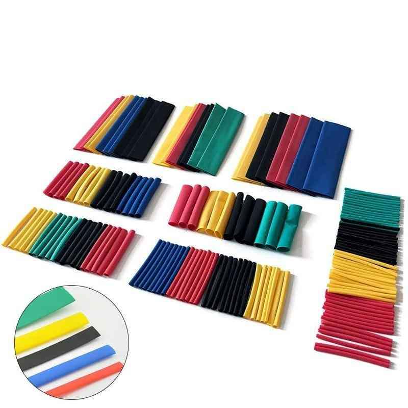 Pvc Heat Shrink Tubing Kit, Polyolefin Shrinkable Tube Cable Sleeve