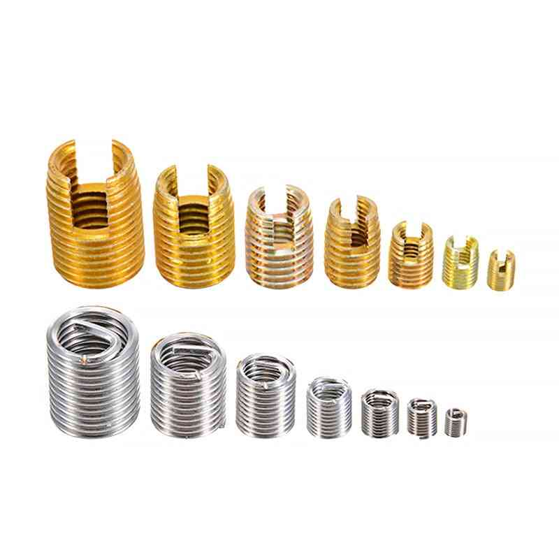 Self Tapping Thread Insert Set M3-m12 For Hardware Repair Tools