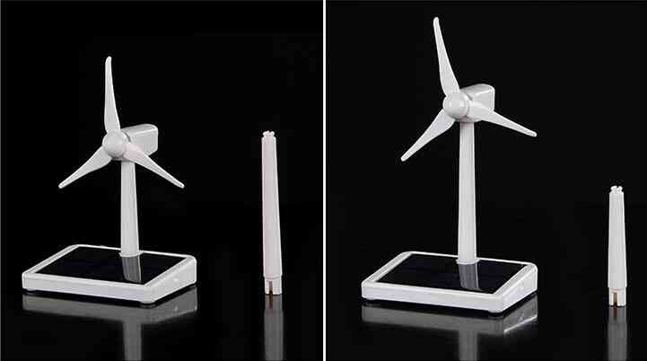 Diy Mini Wind Turbine-solar Generator Model-assembly Kit
