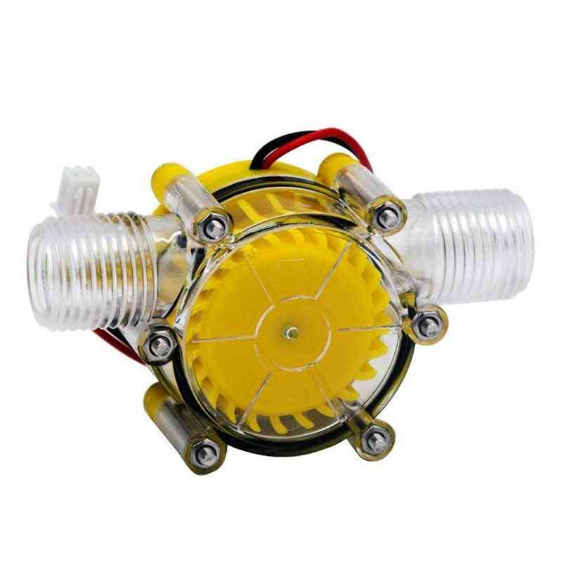 10w Water Pump - Mini Hydro Generator Turbine Flow Hydraulic Conversion 12v