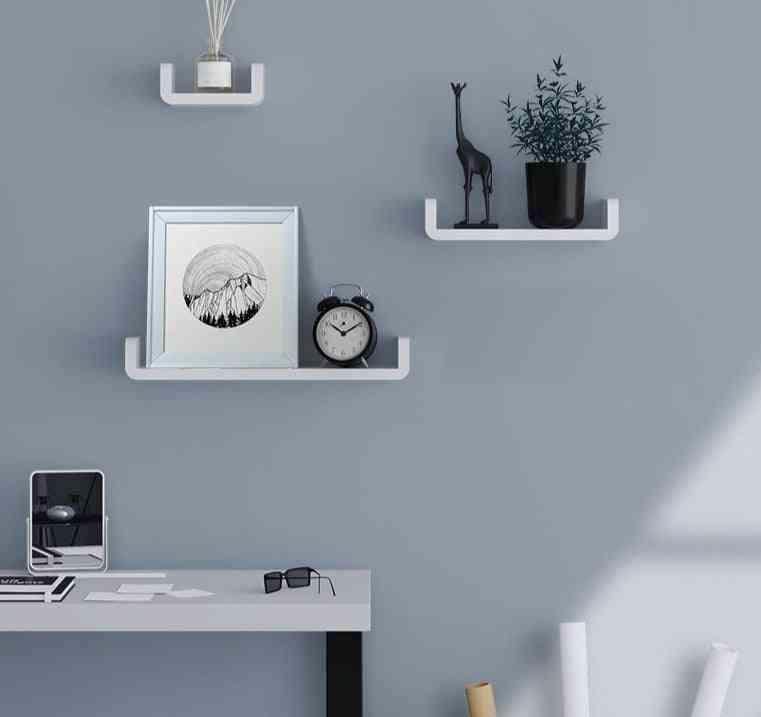 Storage Rack Shelf,  Seasoning Debris -wall-mounted And Self-adhesive