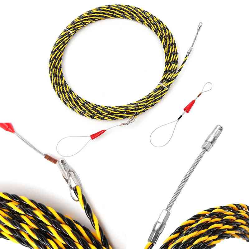 6mm, 5 To 50 Meters-cable Puller Guide, Glass Fiber Nylon Electric Tape Wire