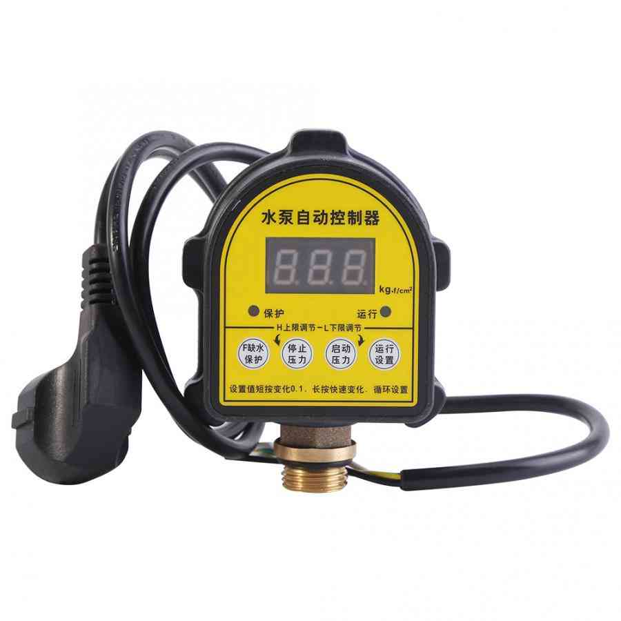Ip65 Waterproof Automatic Air Pump - Electronic Digital Lcd Display Controller