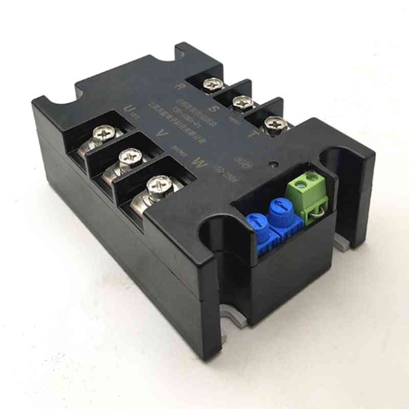 Motor Soft Start Module Controller Stop Heat Sink With Three-phase