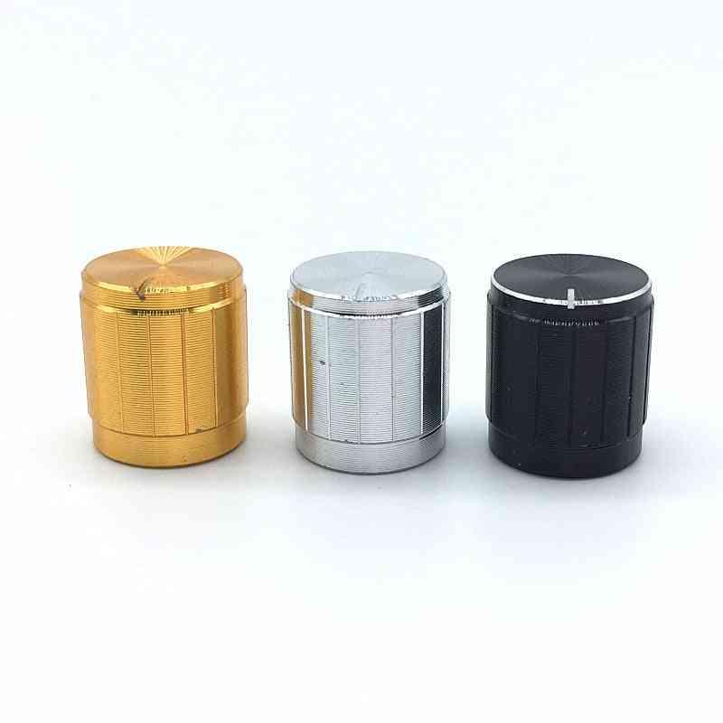 5pcs/lot Aluminum Alloy Switch Caps - Potentiometer Knobs