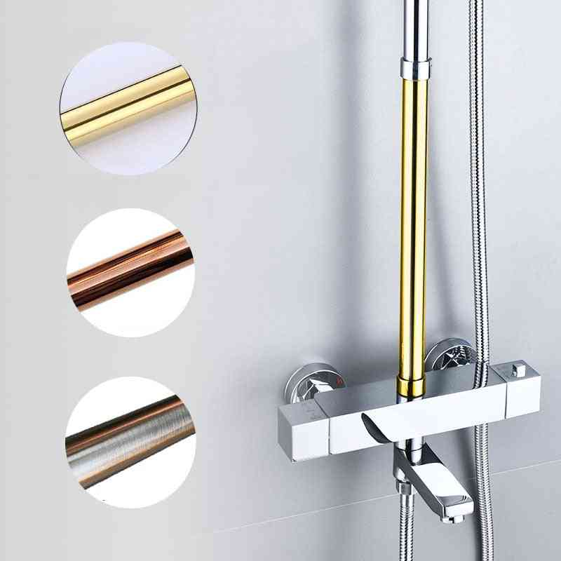 Brass Shower Tube Extend Pipe With 30cm, Extension Tube Bar