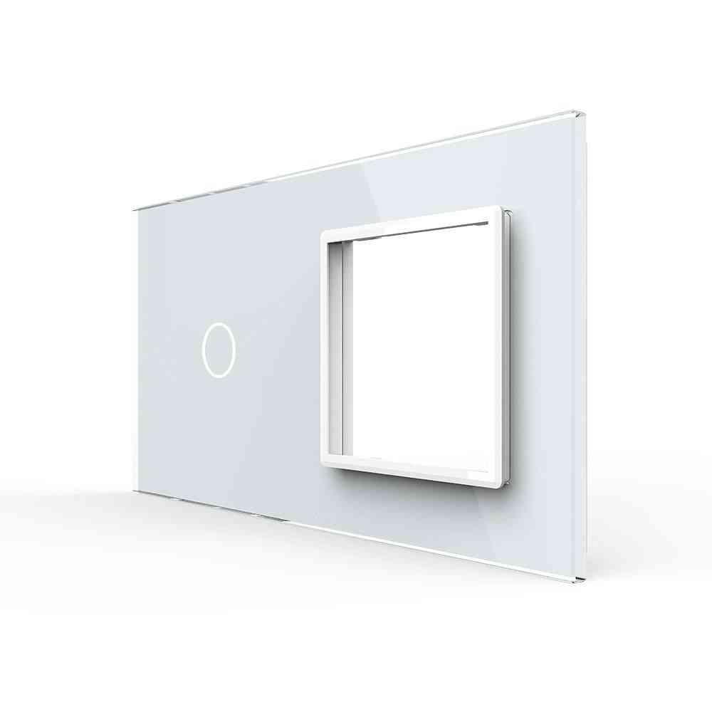 Eu Standard Gang & Frame Glass Panel