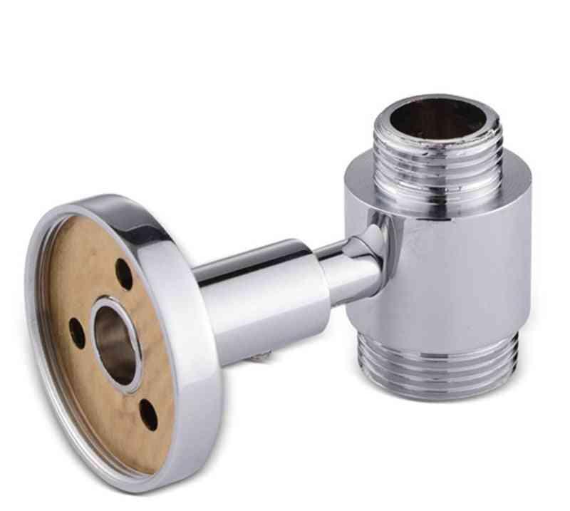4-6.5cm Adjustable Brass Shower Rod Holder