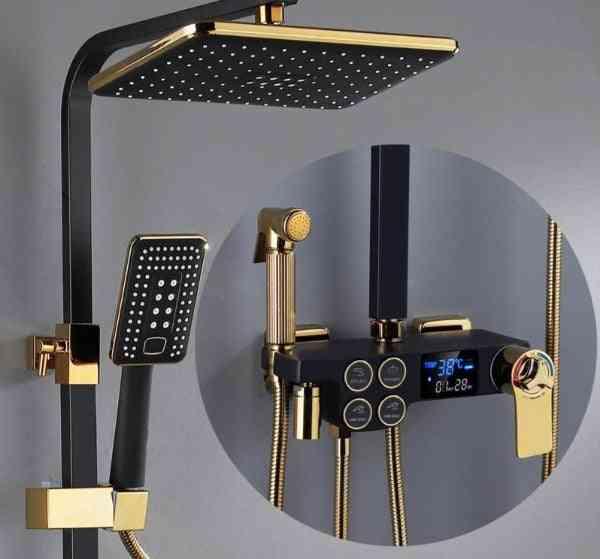 Digital Luxury Thermostatic-shower System Set