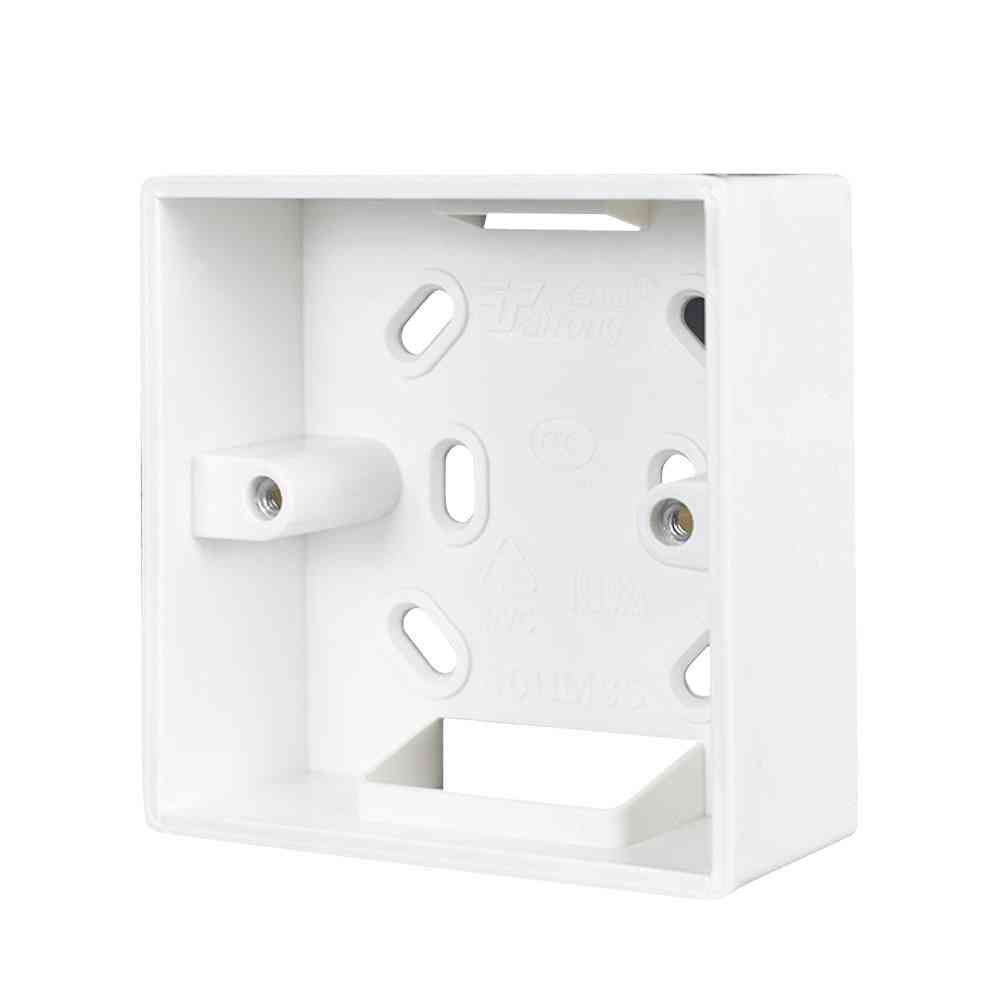 External Mounting Box For Installation Of Standard Switches And Sockets On Wall