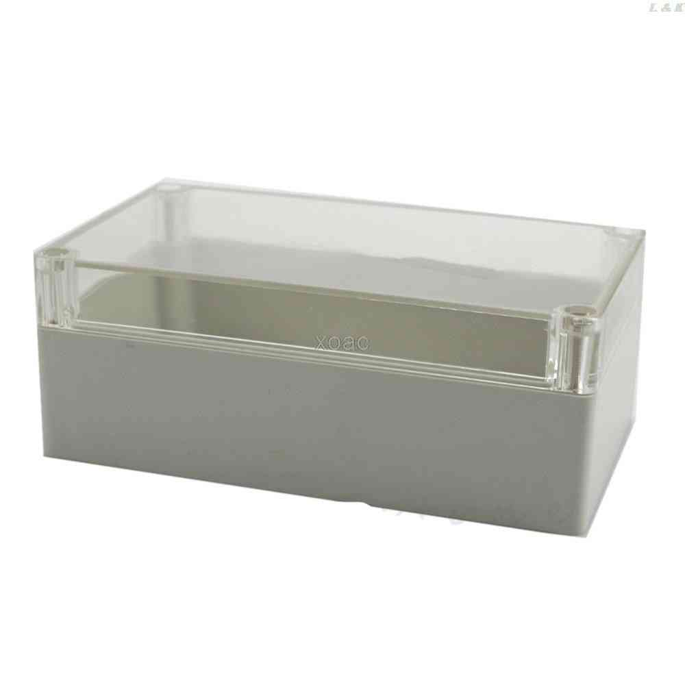 158x90x60mm Waterproof Clear Electronic Project Cover Box
