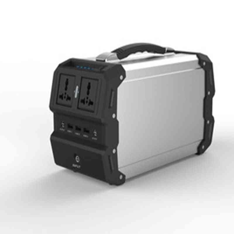 Portable 400w Solar Power Generator - 220v Mobile Power Supply