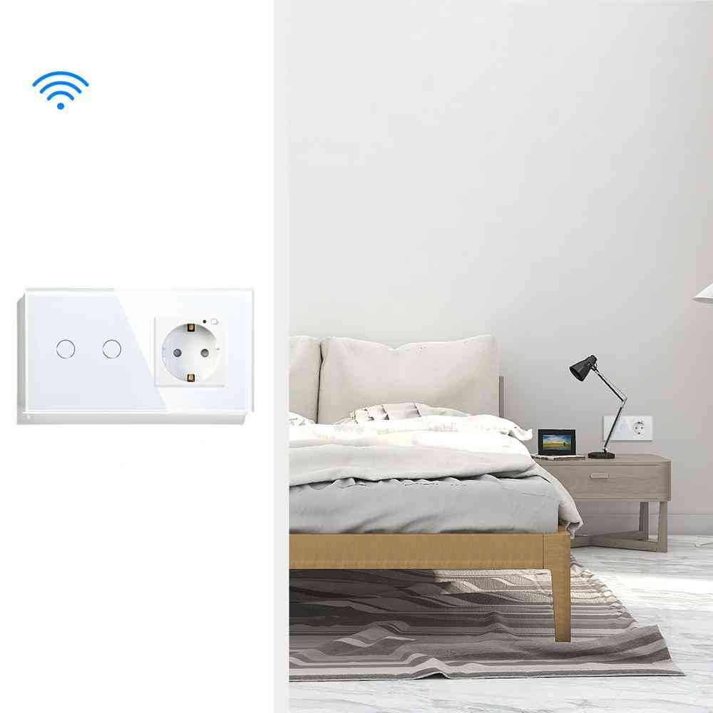 Glass Panel Smart Switch With Wifi Module