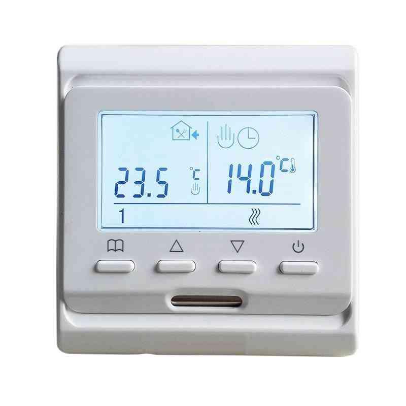 220v 16a Programmable Floor Heating Temperature Controller