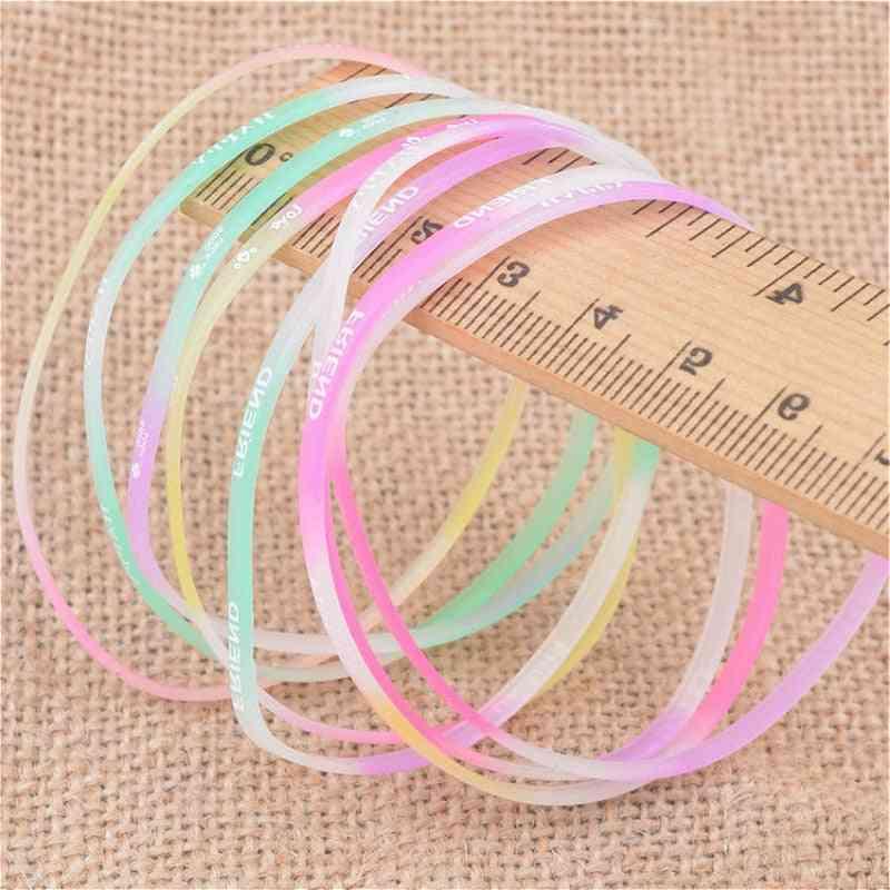 Glow-in-the-dark-florescent  Bracelets