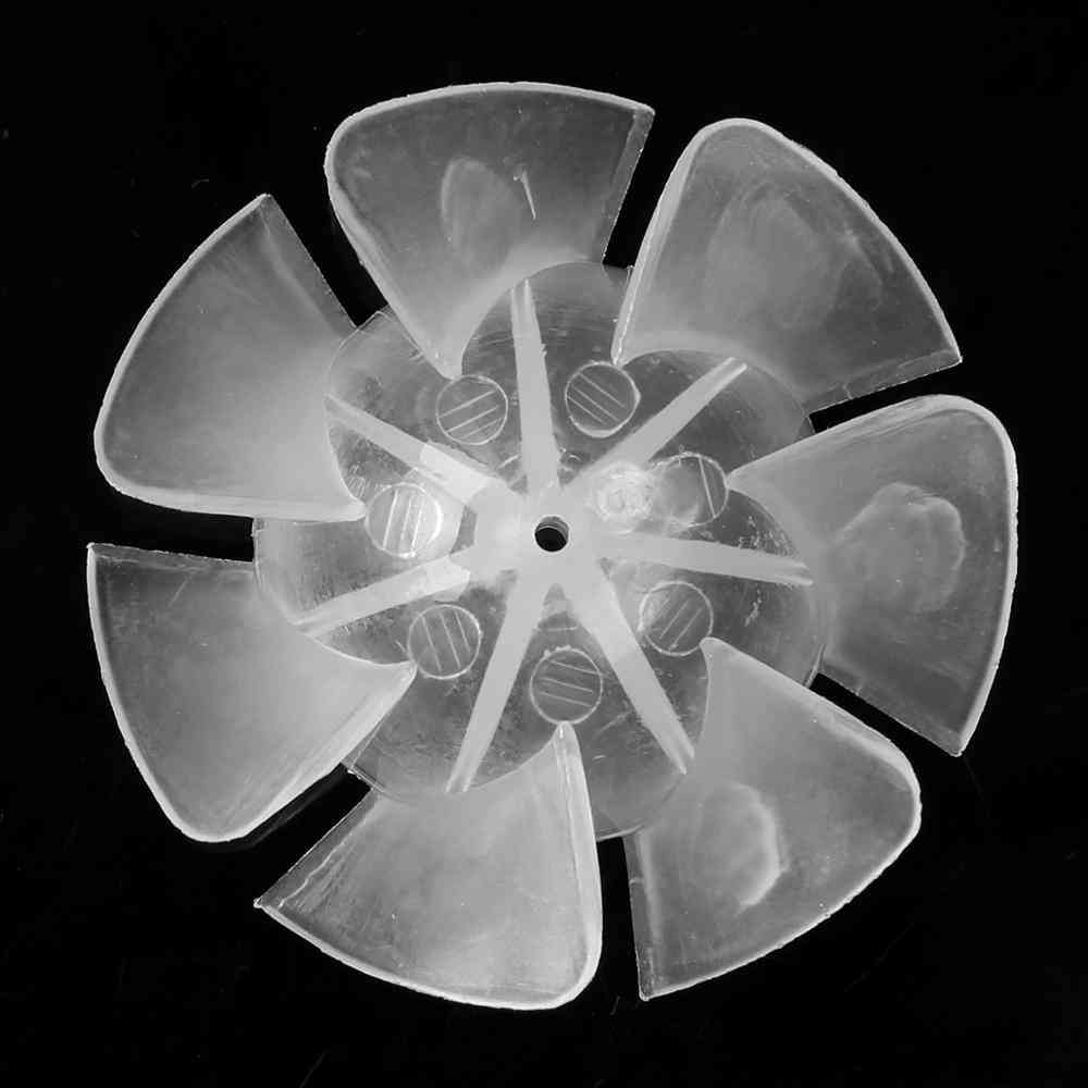 Small Power Mini Fan Blades - Seven/nine Leaves Replacement For Motor