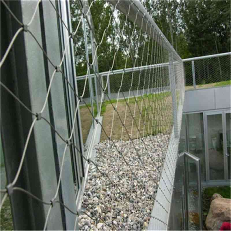 Stainless Steel Wire Cable Mesh -railing Protection
