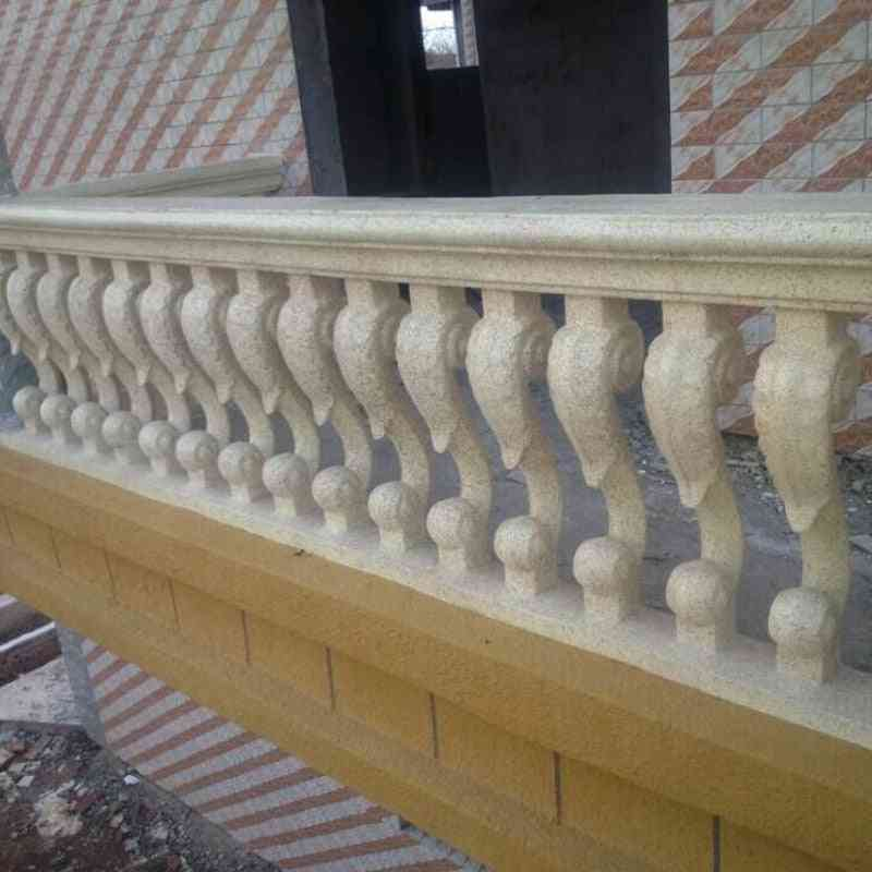 Balustrade Mould Concrete Balcony Baluster Mold With Rail