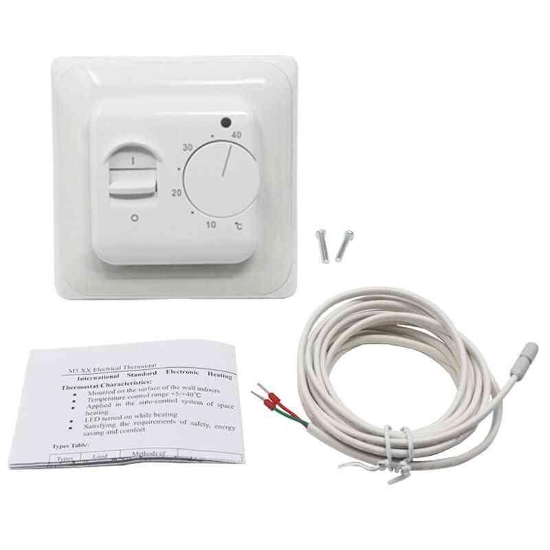Electric Floor Heating Room Thermostat Temperature Controller -warm Regulator
