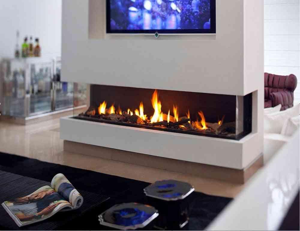 Stainless Steel Bio Ethanol Fireplace Burner Flame