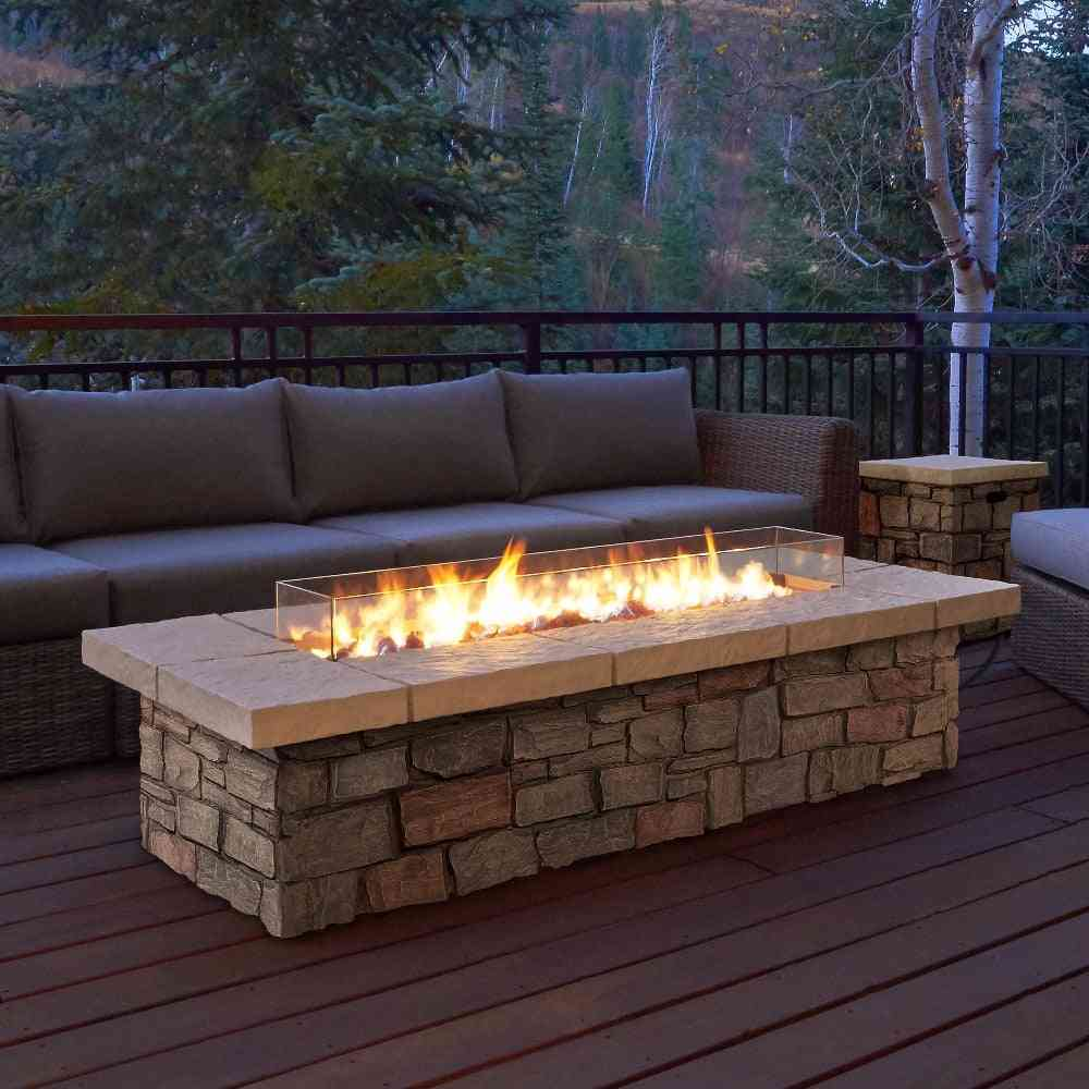 Ethanol Fireplace, Electronic Burner Flame For Home
