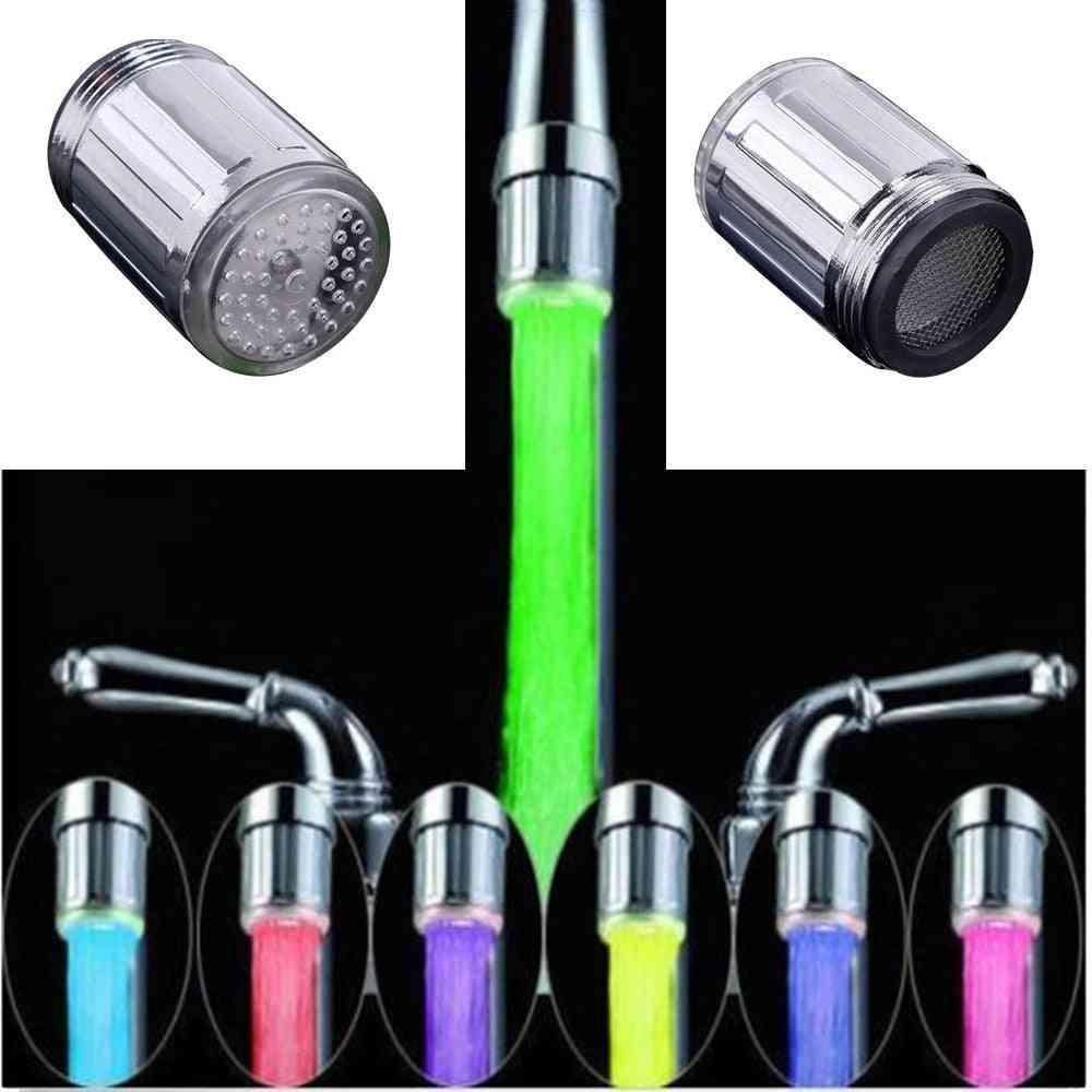 Luminous Light-up Led Water Faucet, Shower Tap