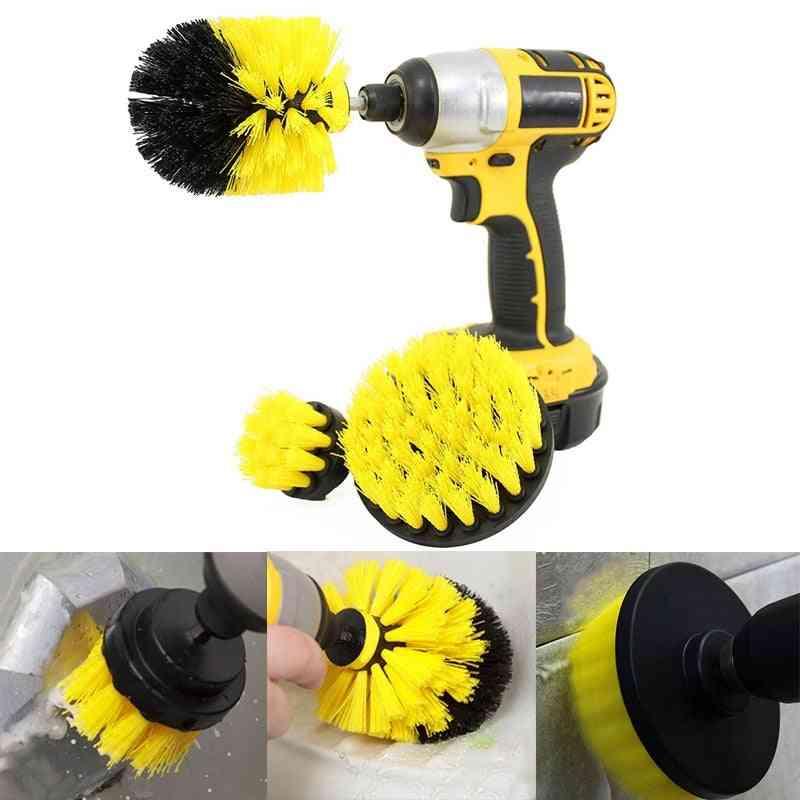 Power Scrub Brush Drill Kit For Bathroom