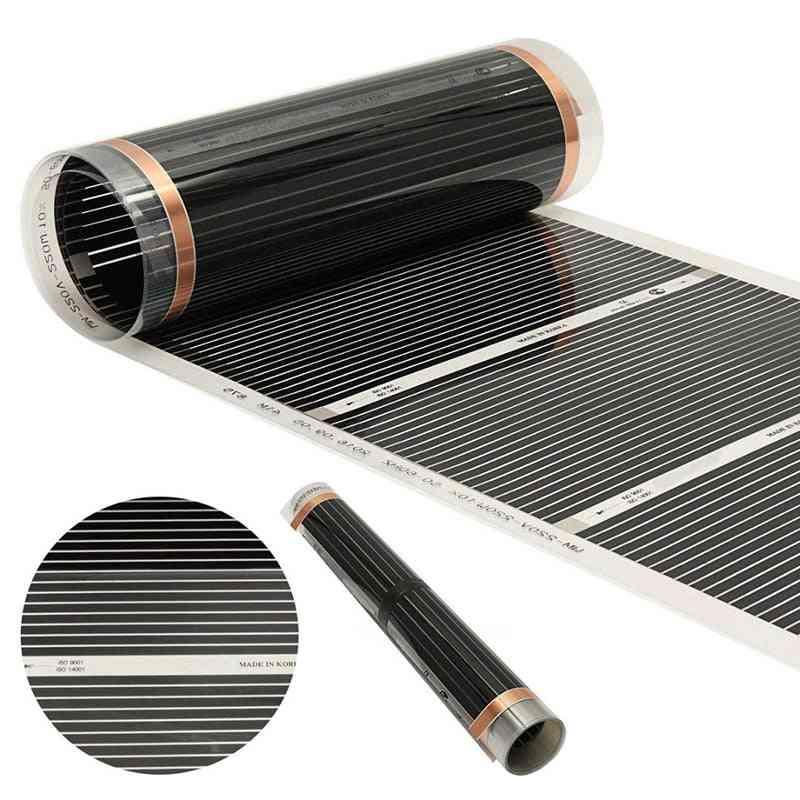 Electric Heating Film- Infrared Underfloor Foil Warming Mat