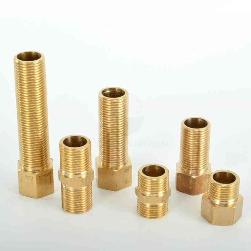 Dn15 Lengthen Copper Material, Male Double Nipple Pipe