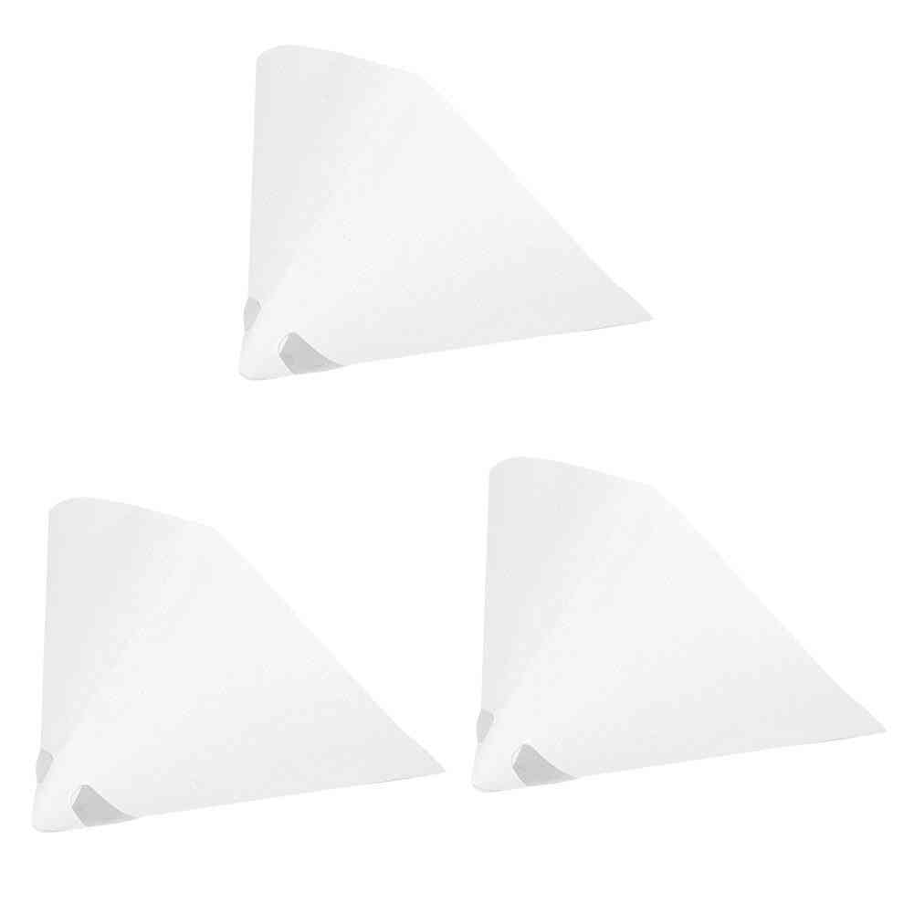 Mesh Paper Paint Strainer, Conical Fine Filter - Industrial Coating Cone Funnel
