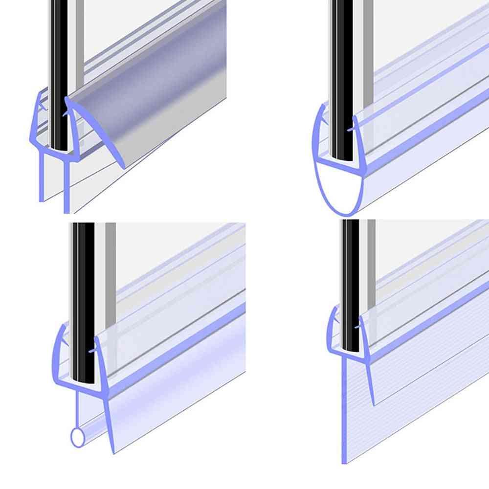 Bath Shower Screen Door Seal Strip, Window Glass Fixture Daily Tools
