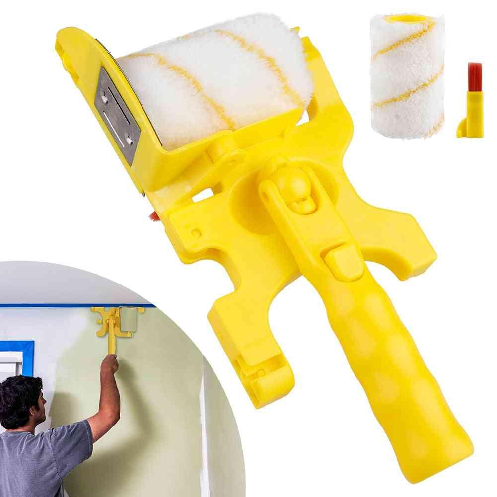 Soft Acrylic Fiber Roller Brush And Holder
