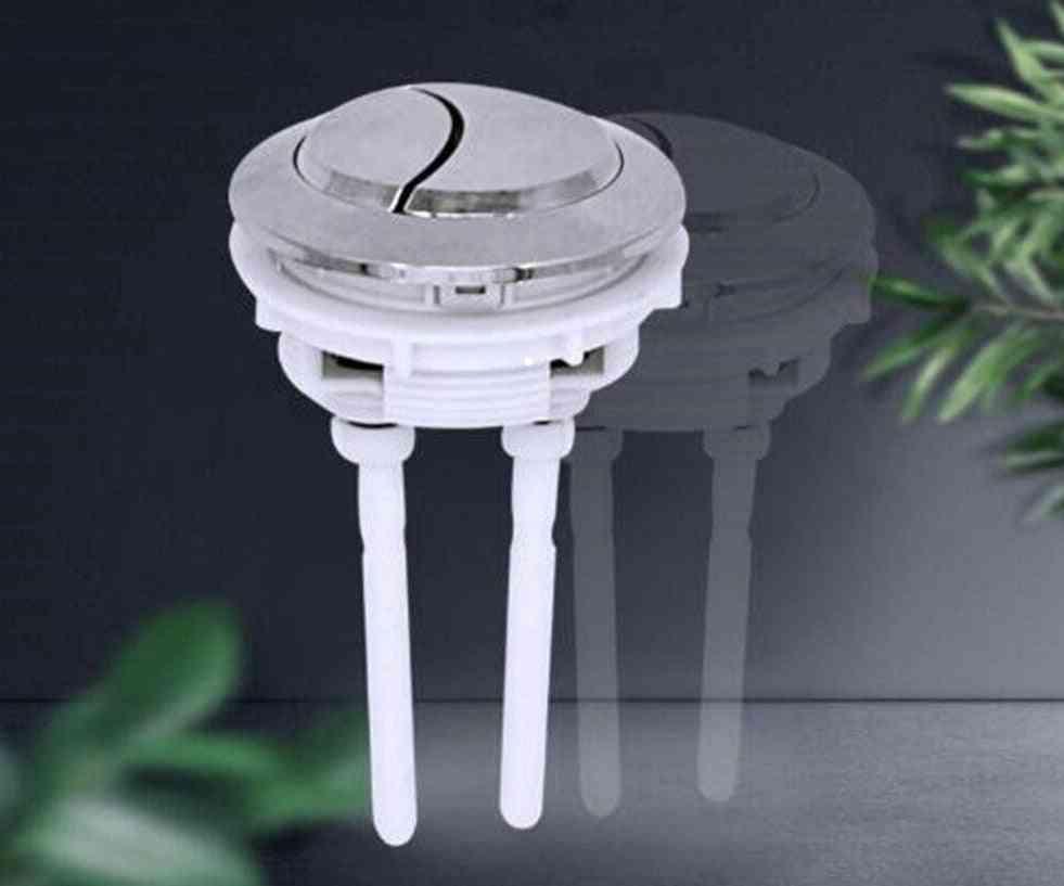 White Toilet Push -universal Button Large Sizes