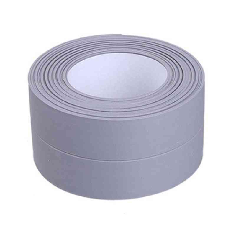 Diy Self Adhesive Wallpaper Border Tape- Waterproof And  Mildewproof