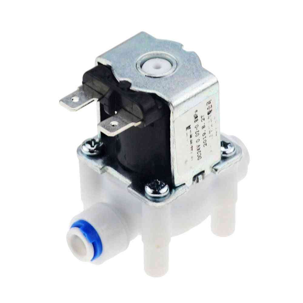 Dc 12v Water Inlet Flow Switch Controller Dispenser, Closed Electric Solenoid Magnetic Valve