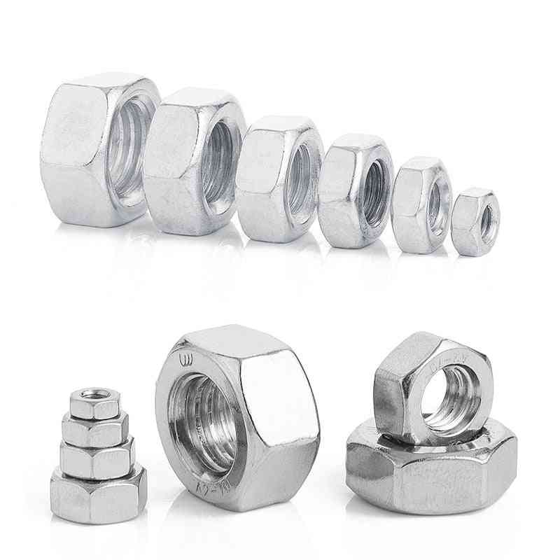 Carbon Stainless Steel Hexagon Nuts