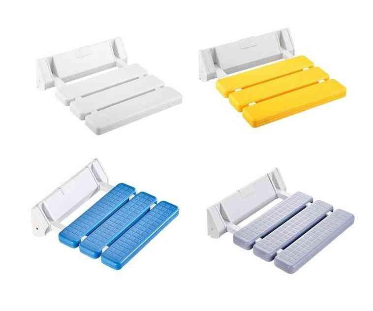 Wall Mounted, Abs Folding Chairs For Toilets/bathroom